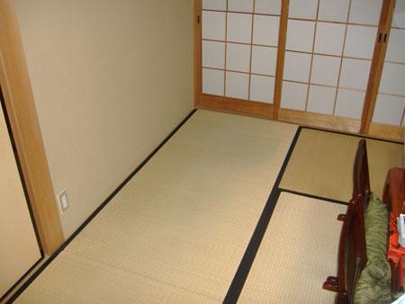 設置前・和室に設置することになりました